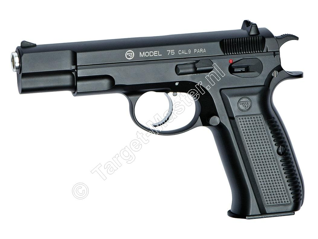 ASG CZ75 Airsoft Pistool 6mm BB Gas