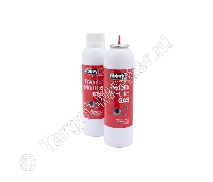 Abbey PREDATOR MINI ULTRA GAS Airsoft Gas inhoud 270 ml