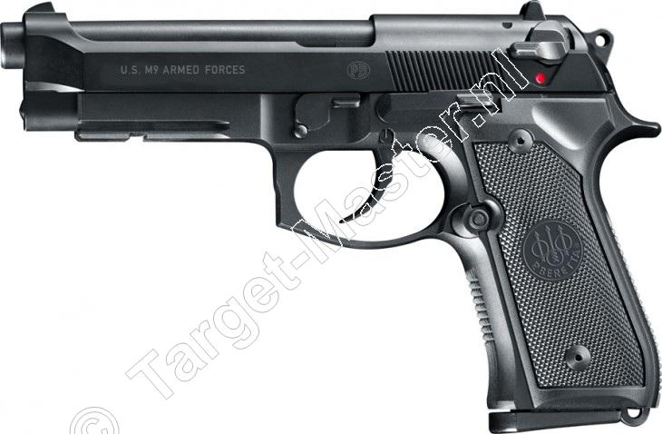 BERETTA M9  -  Airsoft Pistool  -  kaliber 6mm BB  -  GAS