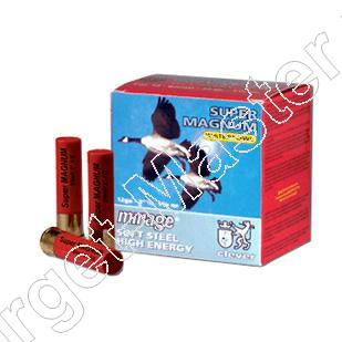 Clever Mirage SUPER MAGNUM Waterfowl T3 Shot Shells 12/89/16 Caliber 12 load 39 gram #2 box of 25
