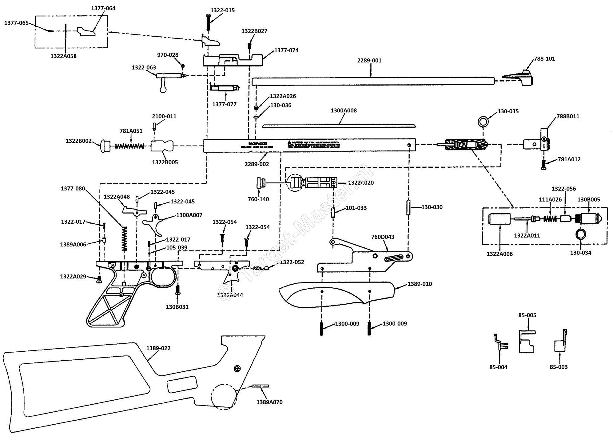 Crosman 1322 Parts Diagram Related Keywords & Suggestions - Crosman