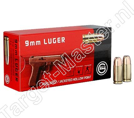 Geco Munitie 9mm Luger 115 grain Jacketed Hollow Point