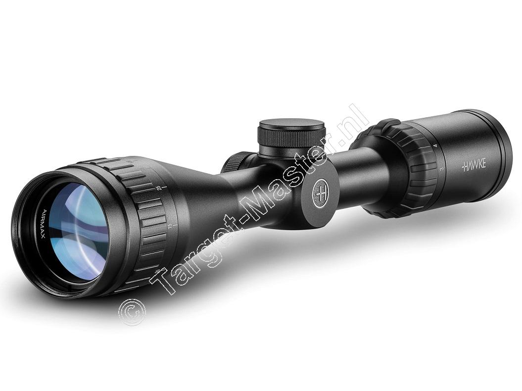 Hawke AIRMAX  3-9x40 AO Rifle Scope reticle AMX