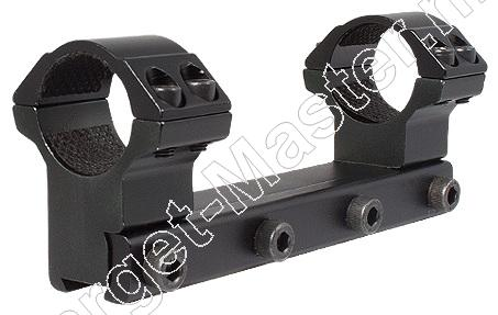 Hawke MATCH MOUNT Airgun Mount for 1 inch Scope HIGH 1 piece